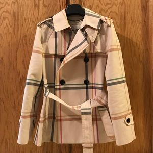 Coach Tattersall Trench Coat